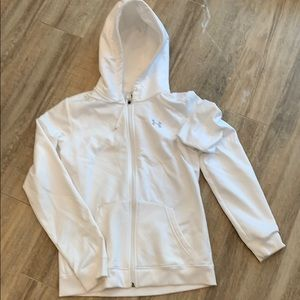 Underarmour Zip up hooded sweatshirt